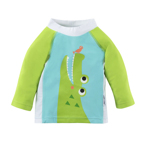 Zoocchini Baby Rash Guard UPF 50+ - Alligator