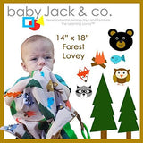 Baby Jack & Co Forest Lovey