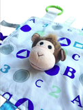 Baby Jack & Co Sensory ABC 123 Lovey - Monkey