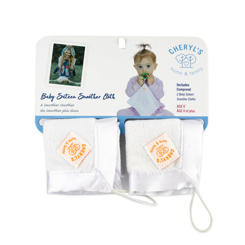 Baby Sateen Snoother Cloth 2pk by Cheryl's Home & Family