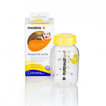 medela breastmilk storage bottle 150 ml