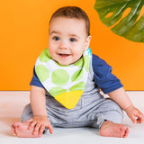 Bright Starts Drool & Teethe Reversible Bandana Bib