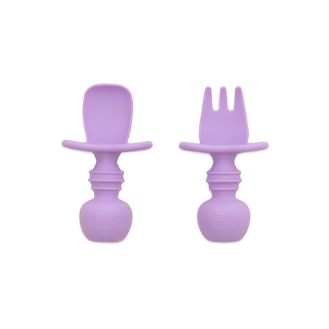 Bumkins Silicone Chewtensils - Lavender