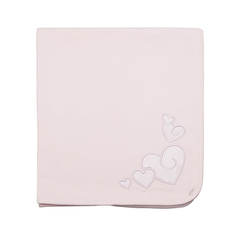 Kushies Classic Cotton Blanket - Pink
