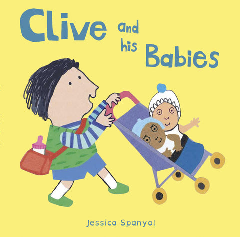 Clive and his Babies Board Book