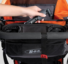 B.O.B. Insulated Handlebar Console With Tire Pump