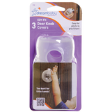 Dreambaby EZY-Fit Door Knob Covers - 3pk
