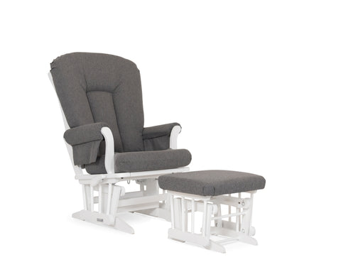 Dutailier Sleigh Glider And Ottoman Package