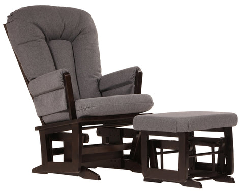 Dutailier Modern Glider and Ottoman Package