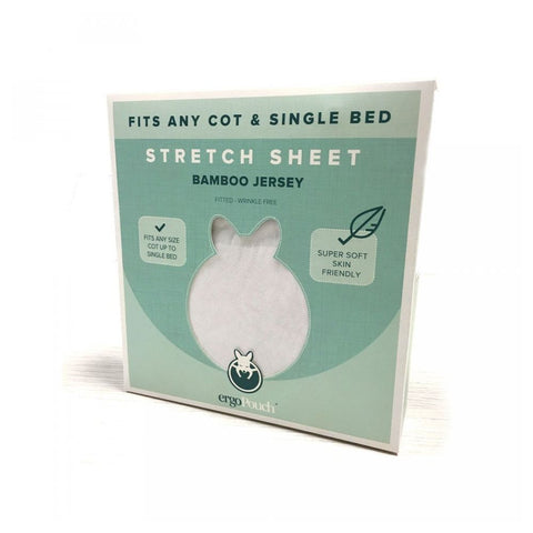 ErgoPouch Bamboo Jersey Stretch Fitted Sheet