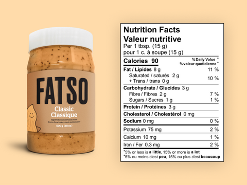 Fatso Classic Natural Peanut Butter