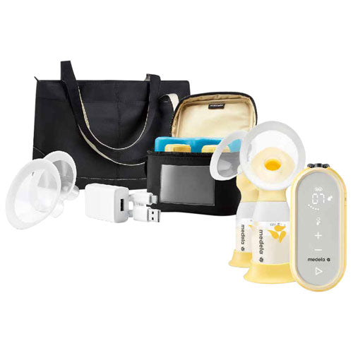 Medela Freestyle Flex Double Electric Breast Pump Royal Diaperer