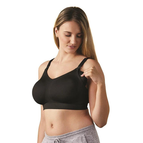 Bravado Body Silk Seamless Nursing Bra Full Cup - BLACK