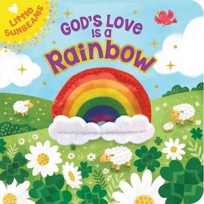 God's Love is a Rainbow Finger Puppet Book