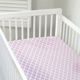 Kushies Flannel Fitted Crib Sheets - Solids