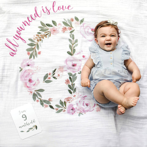 Lulujo Baby's 1st Year - All You Need Is Love