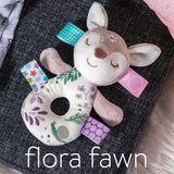 Taggies Mary Meyer Flora Fawn Rattle