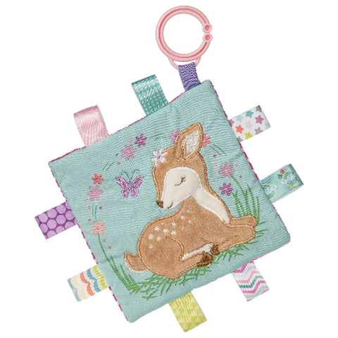 Taggies Mary Meyer Crinkle Me Flora Fawn