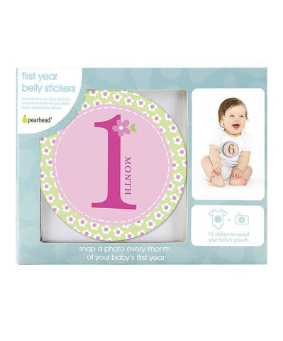 Milestone Stickers - 1st Year - Baby Girl