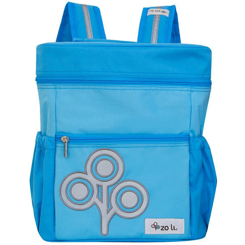 Zoli miniSTASH Backpack - Blue