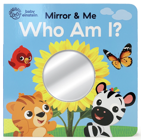 Baby Einstein Mirror & Me: Who Am I? Book