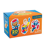 Mudpuppy Box of Magnets Superhero