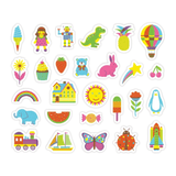Mudpuppy My Favorite Things Wooden Magnetic Sets
