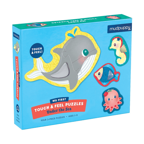 Mudpuppy Under The Sea My First Touch & Feel Puzzles