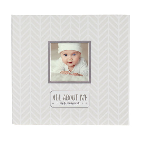 Pearhead Baby Memory Book with Milestone Stickers