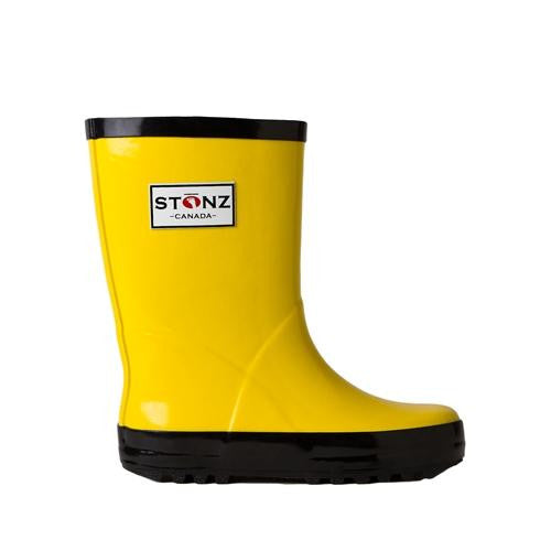 Stonz Rain Boots Yellow/Black