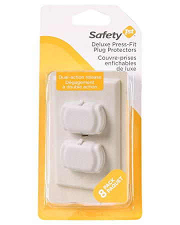 Deluxe Press Fit Outlet Covers - 8 pack