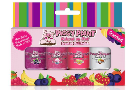 Piggy Paint Scented Nail Polish - Sweet Treats 4pk