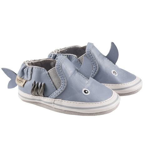 Robeez Soft Sole Slippers - Sebastian Shark