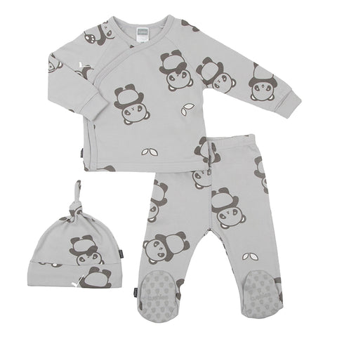 Kushies Wild & Free Take Me Home Outfit - Pandas