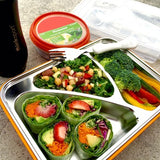 THINKSPORT AIRTIGHT LUNCH CONTAINER - Orange GO2