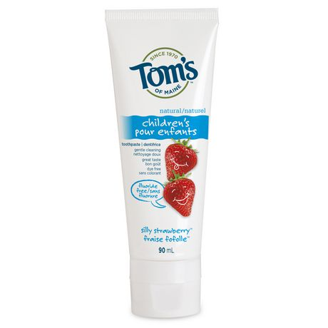 Tom's of Maine Children's Toothpaste - Silly Strawberry