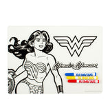 Bumkins Silicone Colouring Placemat - Wonder Woman