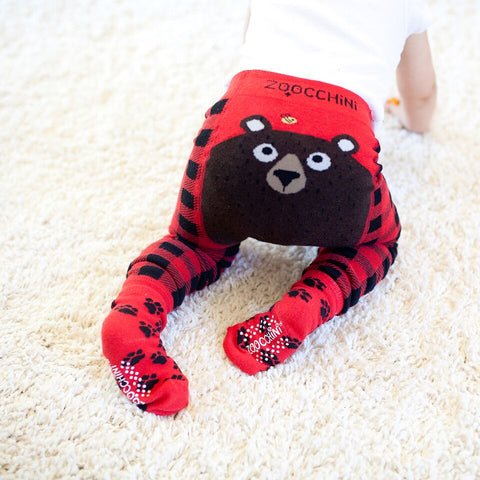 Zoocchini - Legging & Sock Set - Bosley the Bear