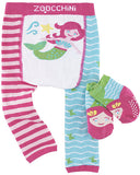 Zoocchini Leggings & Socks Set - Marietta the Mermaid