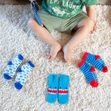 Zoocchini 3 Pair Socks Set - Shark
