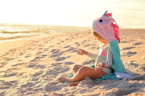 Zoocchini Allie the Alicorn Toddler Towel