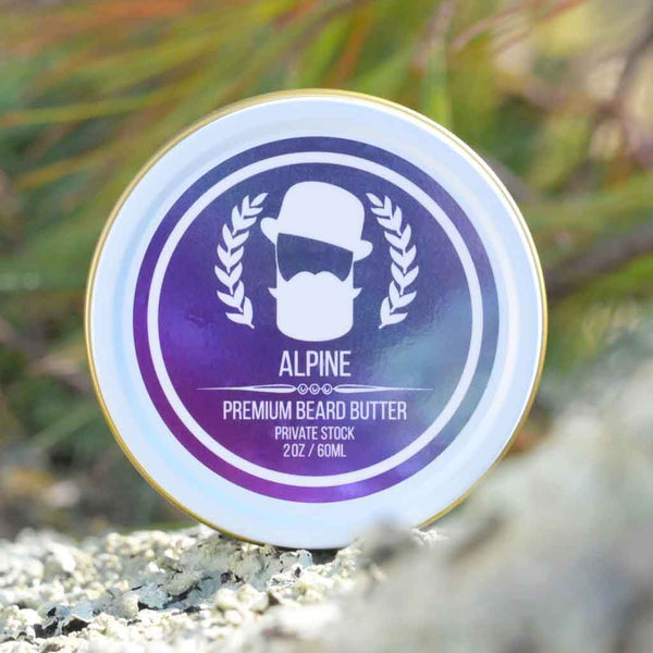 Alpine Premium Beard Butter | Private Stock