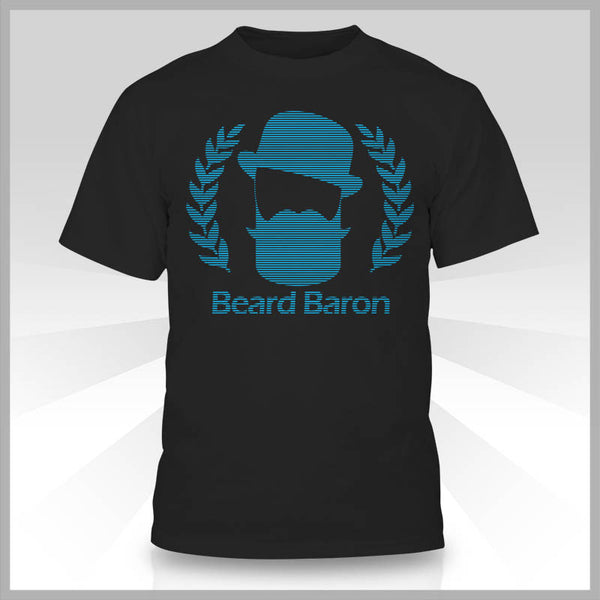 The Beard Baron Premium T-Shirt - Shades Black