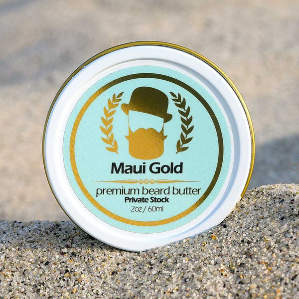 Maui Gold Premium Beard Butter