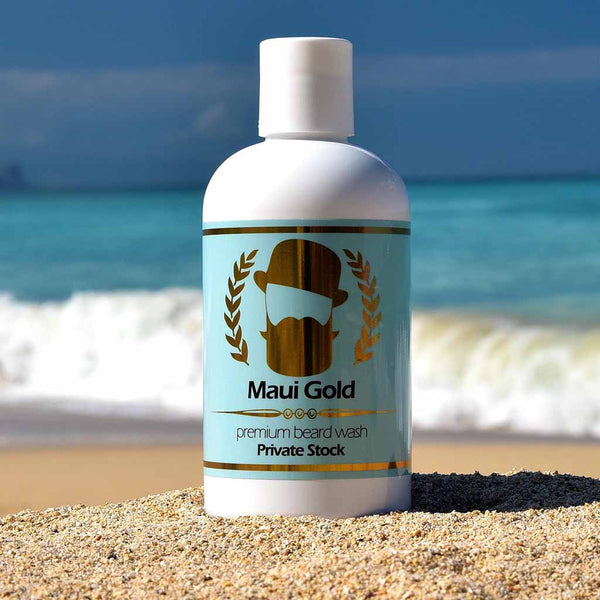 Maui Gold Premium Beard Wash
