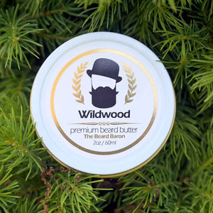 Wildwood Premium Beard Butter