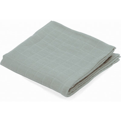 Folded Konges Sløjd Muslin square in French Blue