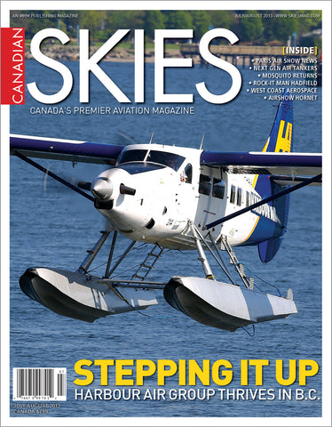 Canadian Skies - July/August 2013 (CSV3I4)