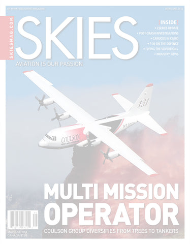 Skies - May/June 2014 (CSV4I3)