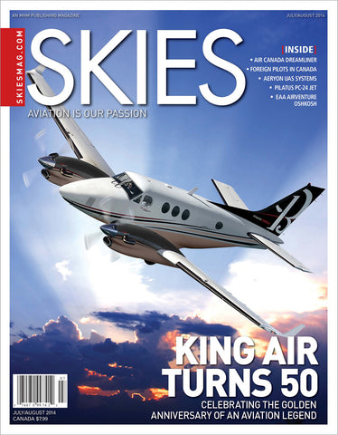 Skies - July/August 2014 (CSV4I4)